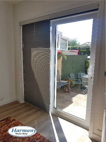 Pleated blinds with a pelmet Bristol