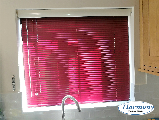 Venetian blinds with a pelmet Bristol