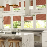 Pleated Blinds are a great way to regulate the temperature in your Conservatory