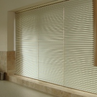 Venetian blinds are a great choice for your Kitchen as they are easy to wipe clean