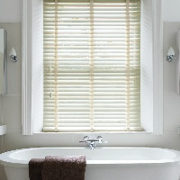 Cream coloured Wooden Blinds are incredibly popular