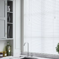 Brand New Faux Wood Blinds are perfect for wet environments