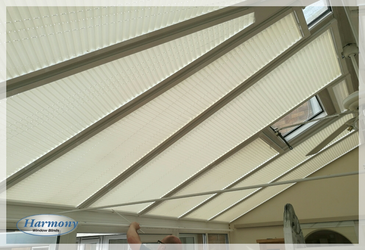 Perfect Fit Pleated Conservatory Roof Blinds