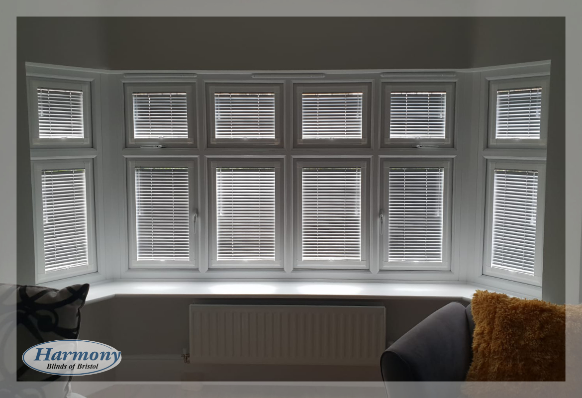 Bay Window Perfect Fit Venetian Blinds Harmony Blinds Of