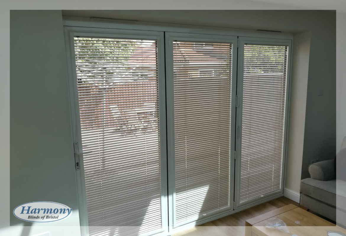 Perfect Fit Venetian Blinds on Bi-Fold Doors