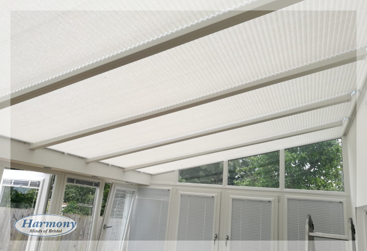 Pleated Conservatory Roof Blinds By Harmony Harmony