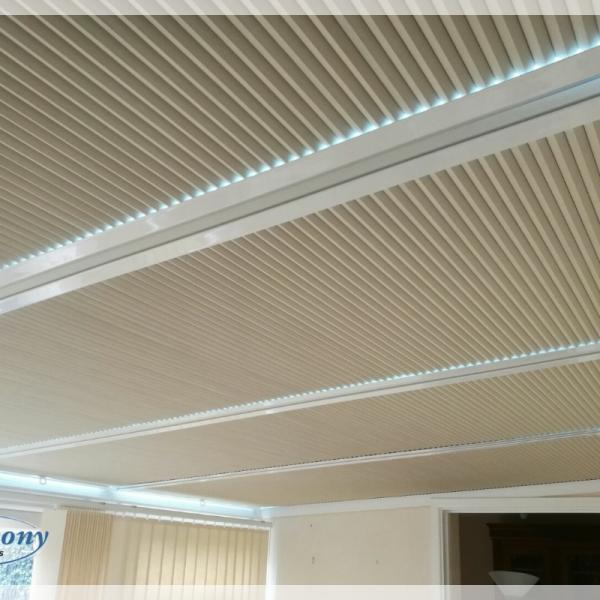 Perfect Fit Cellular Pleated Blinds in a Conservatory Roof - Bristol