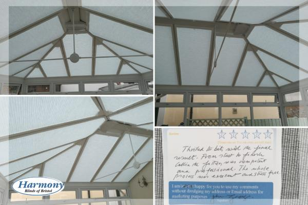 Perfect Fit Hive Dimout Conservatory Roof Blinds
