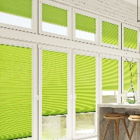 Cellular Pleated blinds are a perfect choice for Conservatory Blinds