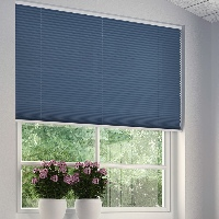 Pleated Blinds are available in a wide range of colours and patterns