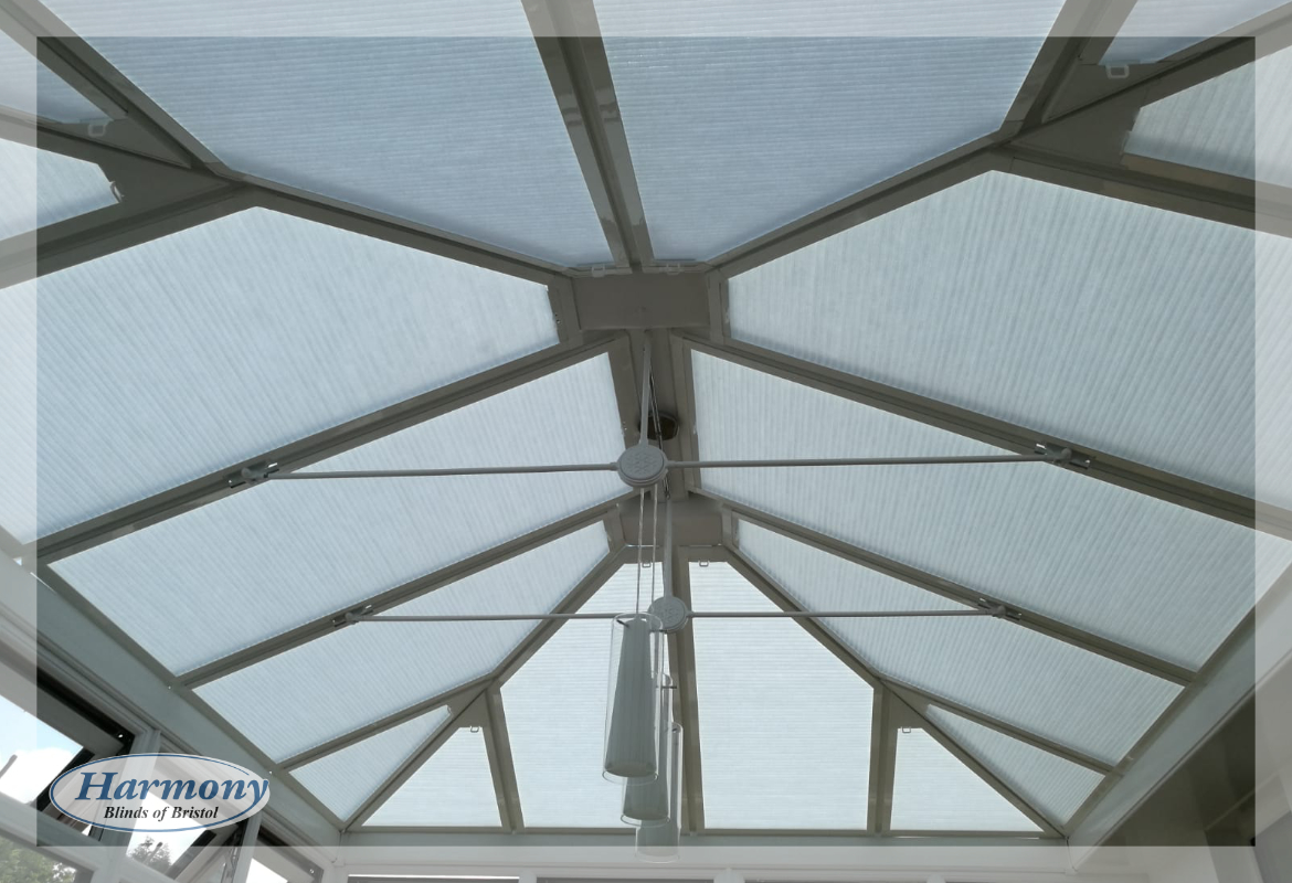 Perfect Fit Hive Blinds in a Conservatory Roof
